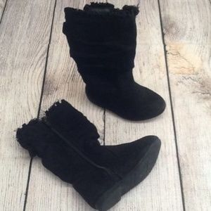 JB JUMPING BEANS  Black Slouch Boots